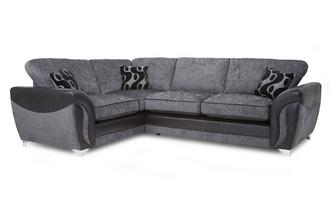 Right Hand Facing 3 Seater Formal Back Corner Sofa Bed Talia