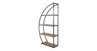 Fete Curved Bookshelf