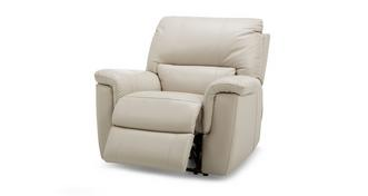 Fiji Leather and Leather Look Manual Recliner Chair