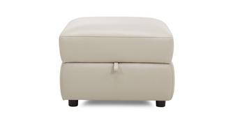 Fiji Leather and Leather Look Storage Footstool