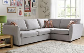 Finlay Left Arm Facing Corner Deluxe Sofa Bed Finlay