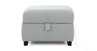 Flint Storage Footstool