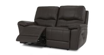 Form Leather and Leather Look 2 Seater Manual Recliner