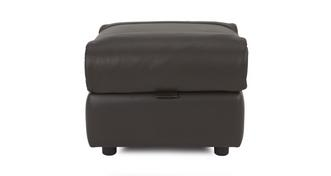 Form Leather and Leather Look Storage Footstool