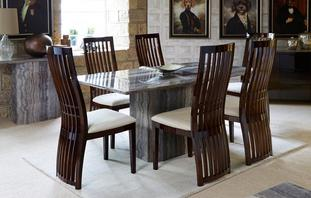 Forte Fixed Table & Set of 4 Chairs Forte