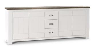 Francine Sideboard with 4 Doors and 3 Drawers