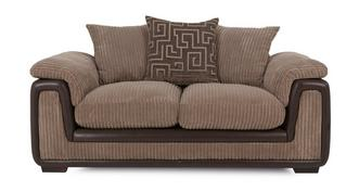Genesis 2 Seater Pillow Back Sofa