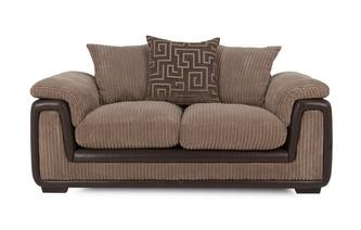 2 Seater Pillow Back Sofa Genesis