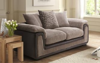 Genesis 2 Seater Formal Back Deluxe Sofa Bed Genesis
