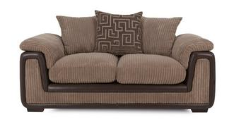 Genesis 2 Seater Pillow Back Deluxe Sofa Bed