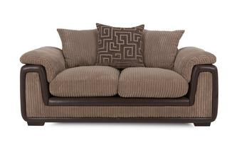 2 Seater Pillow Back Deluxe Sofa Bed Genesis