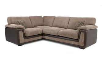 Right Hand Facing 2 Seater  Formal Back Corner Sofa Genesis