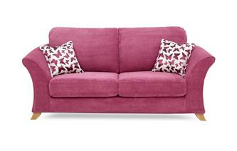 2 Seater Formal Back Sofa Gloss