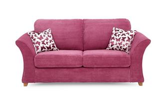 2 Seater Formal Back Deluxe Sofa Bed Gloss