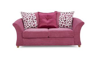 2 Seater Pillow Back Deluxe Sofa Bed Gloss