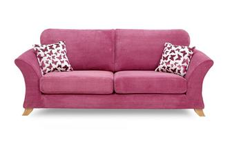 3 Seater Formal Back Sofa Gloss