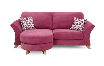 3 Seater Formal Back Lounger Sofa Gloss