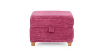 Gloss Storage Footstool