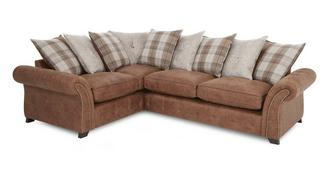 Goulding Right Hand Facing Pillow Back 3 Seater Corner Sofa