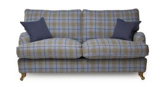 Gower Plaid Large Sofa