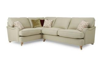 Racing Plain Right Hand Facing 3 Seater Corner Sofa Gower Racing Plain