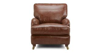 Gower Leather Armchair