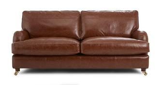 Gower Leather Grand Sofa