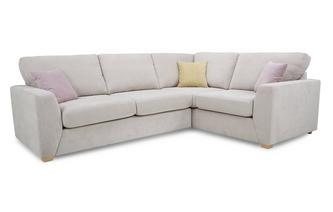 Left Hand Facing 2 Seater Corner Sofa Sherbet