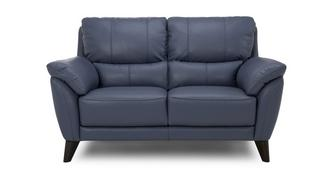 Graduate Leather and Leather Look 2 Seater Sofa