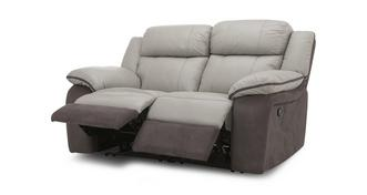 Grammar 2 Seater Manual Recliner