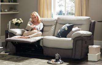 Guide 3 Seater Manual Recliner Guide Showroom