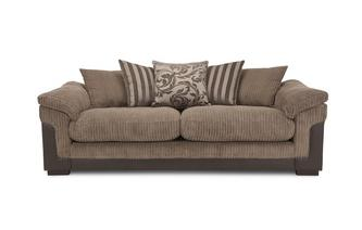 4 Seater Pillow Back Sofa Eternal