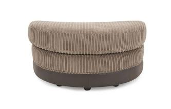 Half Moon Footstool Eternal