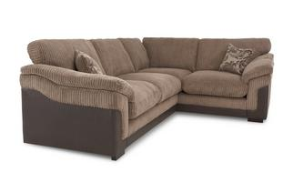 Left Hand Facing 2 Seater Formal Back Corner Deluxe Sofa Bed Eternal