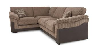 Hallow Right Hand Facing 2 Seater Formal Back Corner Sofa