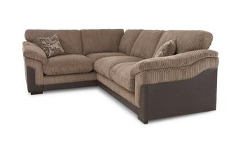 Right Hand Facing 2 Seater Formal Back Corner Deluxe Sofa Bed Eternal