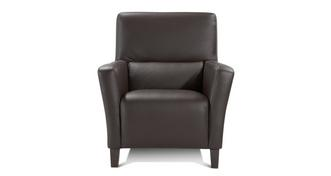 Hampshire Leather and Leather Look Armchair