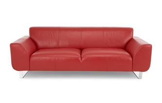 Leather 3 Seater Sofa Brooke