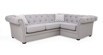 Harmony Left Hand Facing 2 Seater Corner Sofa