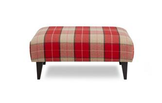 Multi Check Banquette Footstool Keeper Multi Check
