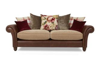 4 Seater Pillow Back Sofa Hayle
