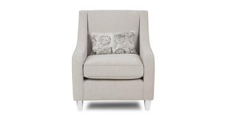 Haze Accent Chair with 1 Pattern Bolster