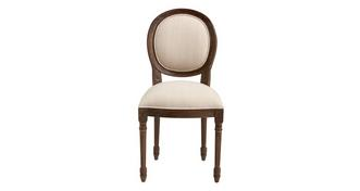 Heirloom Ornate Balloon Back Dining Chair