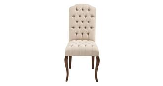 Heirloom Baroque Button Back Dining Chair