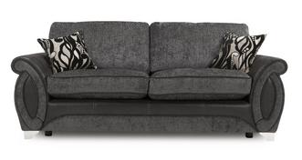 Helix 3 Seater Formal Back Sofa