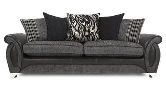 Helix 4 Seater Pillow Back Sofa