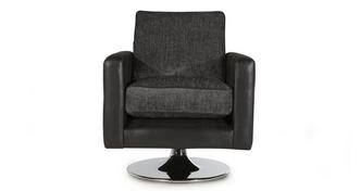 Helix Small Plain Swivel Chair
