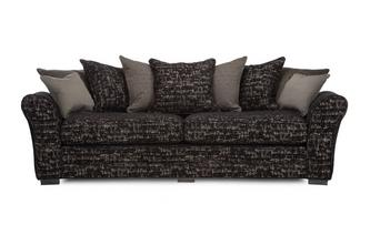 4 Seater Curved Sofa Henley
