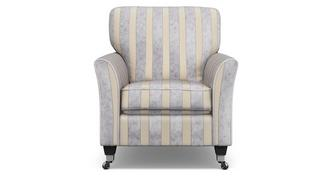 Hogarth Striped Accent Chair