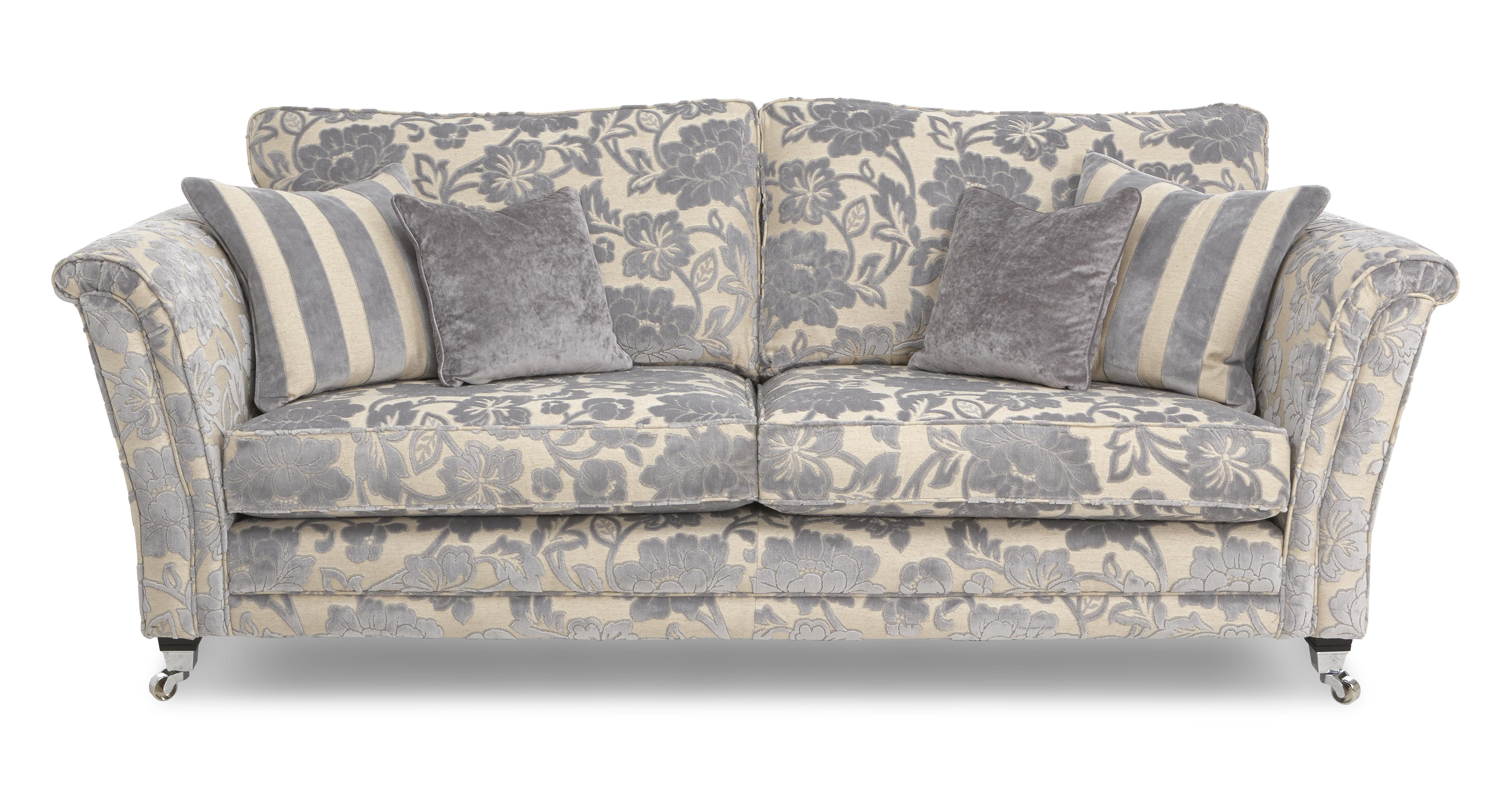 Floral Sofa Captivating With Floral Couches Sofas Photo